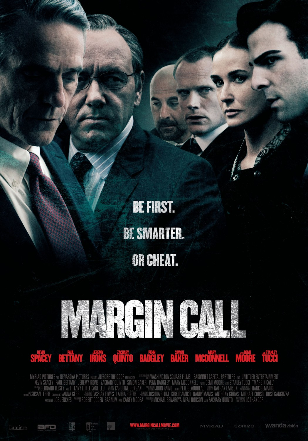 Il poster originale di Margin Call