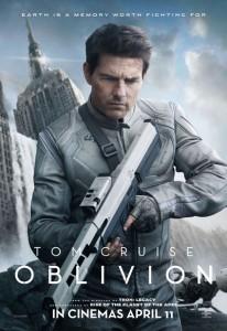 Oblivion: il poster