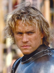 Heath Ledger in Il Destino Di Un Cavaliere