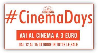Tutti al cinema con 3 euro!