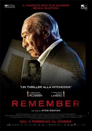 Remember dal 4 febbraio al cinema