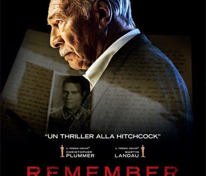 Anteprima: REMEMBER dal 4 febbraio al cinema