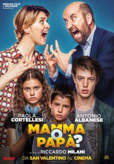 Mamma o Papà dal 14 febbraio al cinema